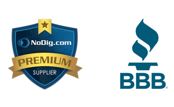 BBB and NoDig Logos